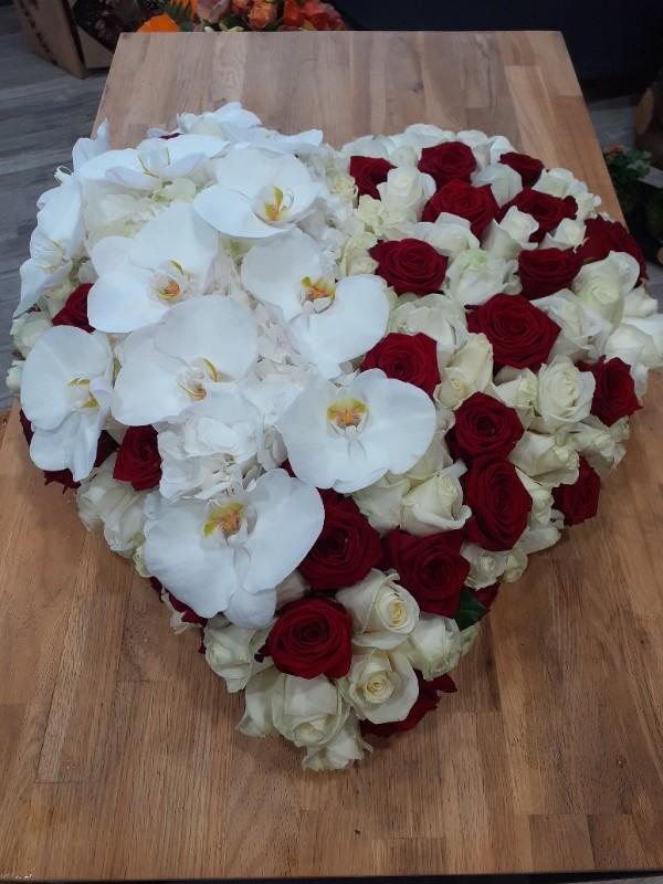 Le cœur, un dernier symbole d'amour pour un être cher au vôtre.